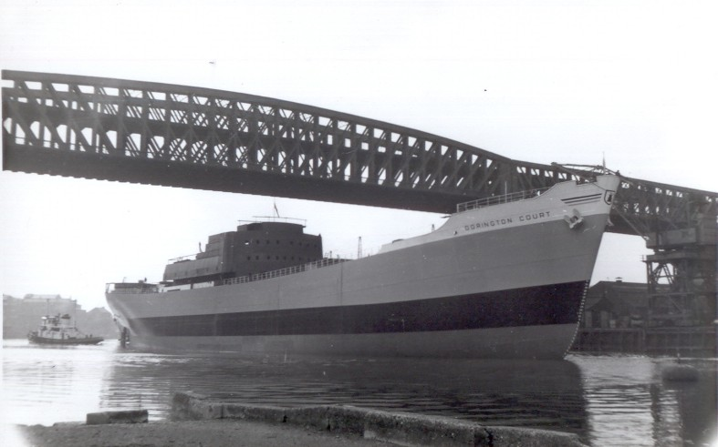 DORINGTONCOURT1957launch.jpg